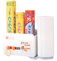 【INOMATA】多功能磁鐵收納架(附吸盤)