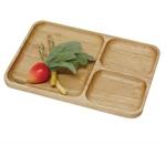 【丸和】木製餐盤