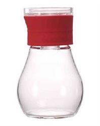 【HARIO】醬汁防漏罐(紅)