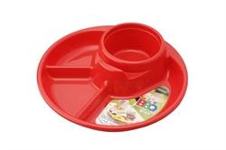 【INOMATA】BBQ 餐盤(紅)