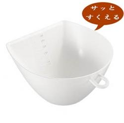 【曙産業】簸箕碗-白