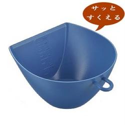 【曙産業】簸箕碗-藍