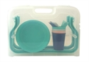 【BISQUE】野餐桌餐具五件組 (藍色)