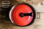 【Hamptons】24cm雙耳鬱金香湯鍋-紅