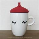【BISQUE】蒸氣貝雷帽馬克杯-紅