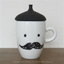 【BISQUE】蒸氣貝雷帽馬克杯-黑