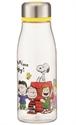 【SKATER】透明水瓶 500ml (史努比)