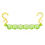 【INOMATA】多件式掛衣架(綠)