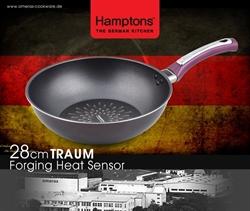 【Hamptons】28cm單柄鑽石炒鍋