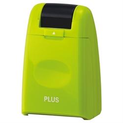 【PLUS】滾輪式 資料保護印章 (綠)