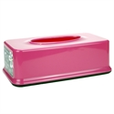 【INOMATA】面紙盒-粉紅