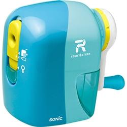 【SONIC】手動削鉛筆機 (淺藍)