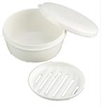 【INOMATA】攜帶用皂盒(圓形)