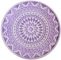 【HIRO】珪藻土 造型杯墊 (紫)