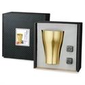 【內海產業】金色高質感鋁杯禮盒組