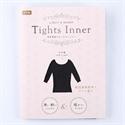 👕【Tights Inner】八分袖發熱衣-鐵灰L~LL.