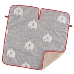 【COGIT】寶寶保暖背巾毯(大象)