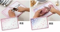 【下村企販】櫻花砧板(雙色)