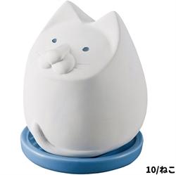 【DECOLE】白貓造型除濕器