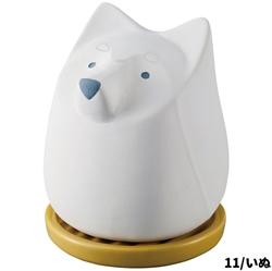 【DECOLE】白犬造型除濕器
