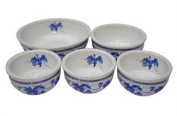 精美瓷器碗 5入組