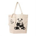 【senbado】動物母子肩背包-熊貓