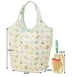 【SKATER】可折疊購物袋 (小熊)