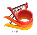 【AUX】3WAY疊疊樂削皮器(紅)