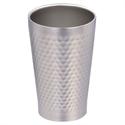 【PEARL】不鏽鋼真空槌目飲料杯(280ml)