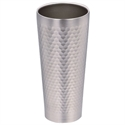 【PEARL】不鏽鋼真空槌目飲料杯(430ml)