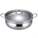 【下村企販】26cm不鏽鋼火鍋湯鍋