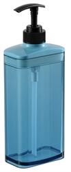 【Richell】按壓式空瓶650ml-藍色