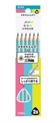 【SAKURA】三角2B學習鉛筆組 (藍)