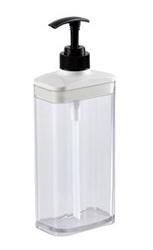 【Richell】按壓式空瓶650ml-白色