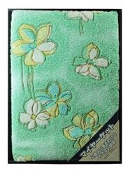 優雅風格毛巾被(綠)