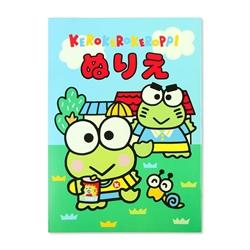 【三麗鷗】可洛比著色本 (大眼蛙)