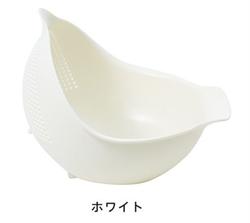 【MARNA】3WAY 瀝水籃(白)