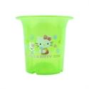 【三麗鷗】Hello Kitty-小花盆-綠色