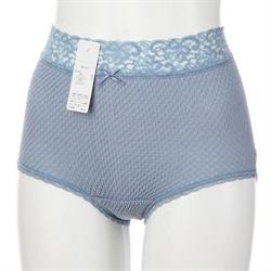 【841】蕾絲超彈性舒適內褲-皇家藍L.