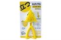 【SANBELM】三角站立清潔萬用刷-深黃