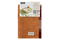 【SANBELM】格紋防潑水桌墊(橘)
