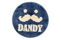 【SANBELM】圓形椅墊-DANDY藍