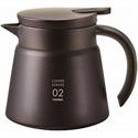 【HARIO】真空保溫咖啡壺(黑600ml)