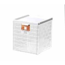 【INOMATA】廚房儲物罐 (白)