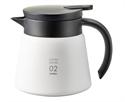 【HARIO】真空保溫咖啡壺(白600ml)