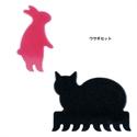 【MARNA】動物鍵盤刷-兔子貓咪