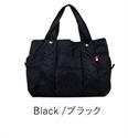 【MACARONIC STYLE】輕量托特包M-黑色