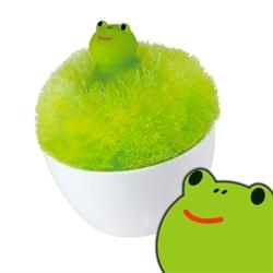 【MARNA】PC鍵盤清潔刷-青蛙