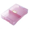 【SONIC】耐衝擊文具整理盒 (粉)