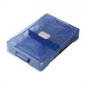 【SONIC】耐衝擊文具整理盒 (藍)